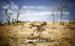 are you limiting
